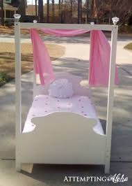 Toddler canopy bed plans and instructions. Easier than you think ...