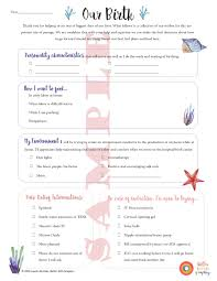 Birth Plan Download Birth Plan Template Uk Nhs Word Document Download Free