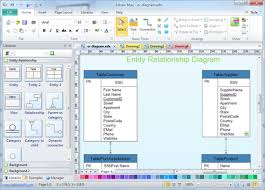 entity relationship diagramentity relationship diagram software