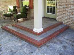 Cement Front Porch | Customized Front Porch Makeover  Baluster & Floor  Designs