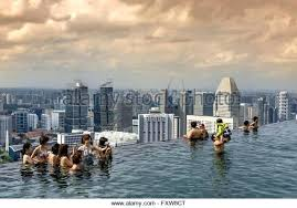 infinity pool singapore hotel. Infinity Pool Stock Photos Singapore Marina Bay  Sands Roof . Hotel