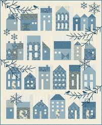 Home - Common Threads Quilting & Winter Village - We love this quilt by Edyta Sitar, using her line Reaching  Blue Sky. We are using the exact fabric pictured. This program will run for  12 ... Adamdwight.com