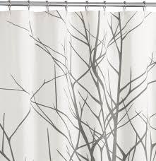 modern shower curtains. Image. Arbor Shower Curtain From CB2 · Photobucket Modern Curtains