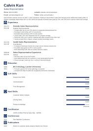 Sales Summary Resume Sales Representative Resume Sample Writing Guide 20 Examples