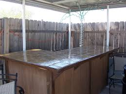 Outside Bar Homemade Patio Bars Cowgirls Country Life Building My Outdoor