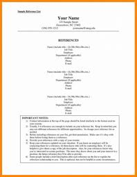 References Template Free Job Reference List Samplermat Uk Example References In