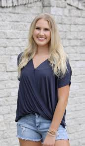 Avery Cross Over Top – Mollie's Boutique