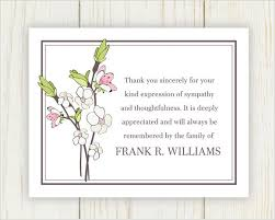 Thank You Note For Money Extraordinary Thank You Notes After Funeral For Money Wwwrescuingamericabook