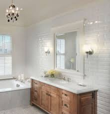 gloss white large xl bevelled metro brick kitchen bathroom wall tiles 10 x 30 cm for