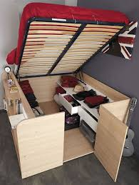 Try this DIY platform storage bed from 'Diva of DIY'. It has a really easy  to follow tutorial with lots of step by step photos.