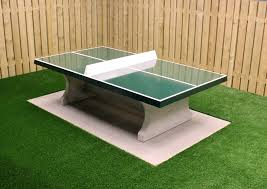 concrete ping pong table. Concrete Ping-pong Table Green Ping Pong E