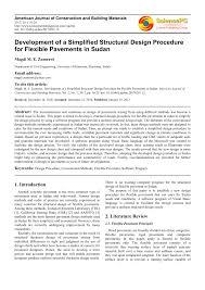 Aashto 93 Flexible Pavement Design Pdf Development Of A Simplified Structural Design Procedure