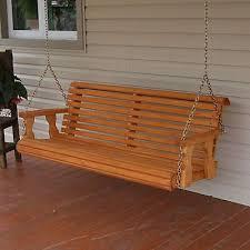 swing porch amish heavy duty 700lb wood