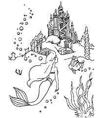 Disegni Ariel La Sirenetta 3 Disegni Per Bambini Da Stampare E