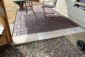cheap patio paver ideas. Awesome Paver Patio Floor Ideas With Arm Chairs For Outdoor Cheap