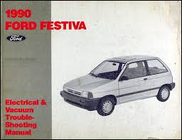 1990 ford festiva foldout wiring diagram original related items