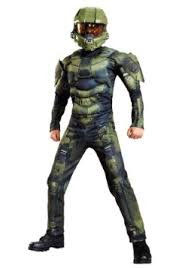 Delightful Boys Master Chief Classic Muscle Costume Update1