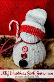 diy sock snowman busybeingjennifer com