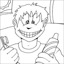 Teeth are a major part of our body. Dental Oral Health Coloring Pages Delta Dental Of New Jersey