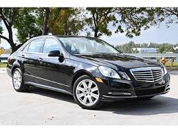 The official debut will be made next week at the 2013 detroit auto show, but the the first details. 2013 Mercedes Benz E Class For Sale With Photos Carfax