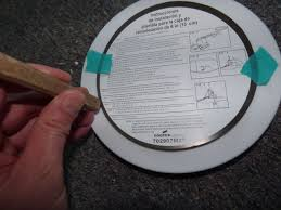 Goof Rings For Recessed Lighting How To Repair Light Fixture Ceiling Holes