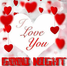 good night images for boyfriend with i love you
