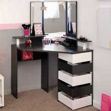 diy corner makeup vanity. Volage Makeup Vanity With Mirror Diy Corner