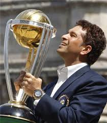 Long awaited glory - the World cup and Sachin