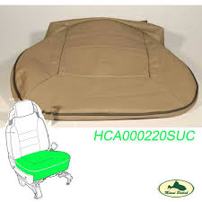 land rover front seat cover bahama beige discovery 2 ii 99 02 hca000220suc oem miami british corp