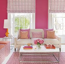 colour school how to decorate with hot pink and orange ideal home housetohome