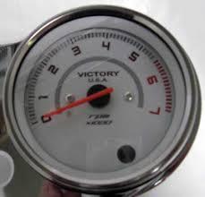 victory jackpot vegas kingpin chrome tachometer gauge 05 10 tach victory jackpot vegas kingpin chrome tachometer gauge 05 10 tach 2875006