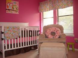Pink Bedroom Paint Bedroom Gorgeous Pink Baby Nursery With Pink Wall Paint Color