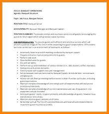 Servers Job Description For Resume Server Job Description For Resume ...
