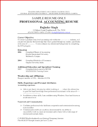 Unique Accounting Job Resume Wing Scuisine