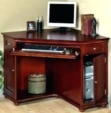 wooden corner desk. Small Wooden Computer Desks Cherry Wood Desk Corner Cabinet Full Size Of