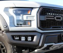 Custom Fog Designs 17 Raptor Baja Designs Off Road Custom Lighting Ford