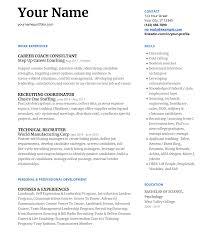 Professional Strengths Resume Intermediate Level Resume Example Experienced Job Seeker