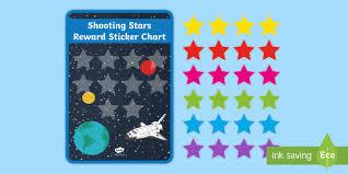 New Shooting Stars Sticker Reward Charts Reward Systems
