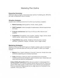 executive summary writing outline examples format example apa it