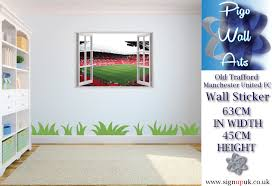 Manchester United Bedroom Manchester United Wall Stickers Ebay