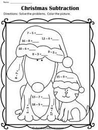2bb36cd5347d930508a1d8c4a1d0e0e1 christmas math worksheets christmas activities 86 best images about subtraction on pinterest math facts, 100 on subtraction worksheets borrowing