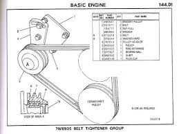 cat 3208 belt numbers and their proper adjustment wanderlodge click image for larger version cat 3209 idler pulley belt tightener drawing jpg