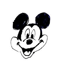 自分流のミッキーマウスをキャラクターイラストの個性的な描き方
