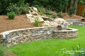 ways retaining wall can be integrated