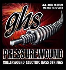 Electric Guitar String Tension Chart Ghs Strings Launch Updated Bass Guitar Tension Charts
