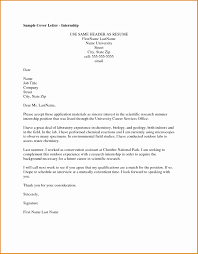 6 Intern Cover Letter Example Besttemplates Besttemplates
