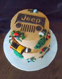 Jeep Birthday Cake Topper Off Roading In A Grooms 2019 Pinterest 852
