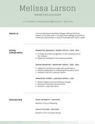 Simple Resume Templates Best Moss Green Simple Resume Templates By Canva
