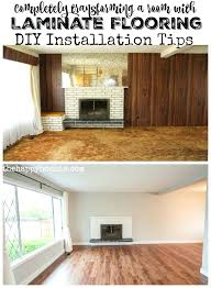 how to lay pergo flooring completely transforming a room with laminate flooring installation tips at