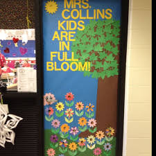 2nd Grade Spring Classroom Door Classroom doors Pinterest